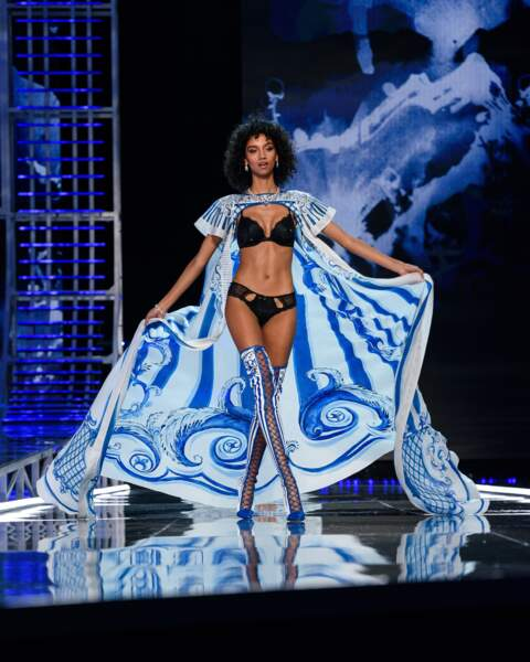 Aiden Curtiss au défilé Victoria's Secret à Shanghai en Chine, le 20 novembre 2017
