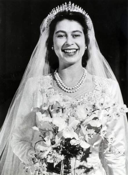 Le mariage d'Elizabeth II et du prince Philip
