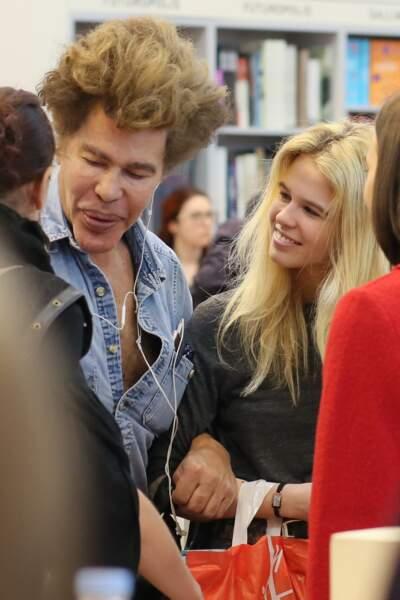 Igor Bogdanoff et Julie Jardon au Salon du Livre