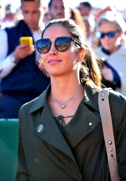 Maria Francesca Perello, la compagne de Rafael Nadal qu'il connaît depuis l'enfance.