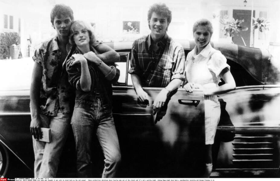 """Dans le film """"Les Griffes de la Nuit"""" (1984)"""