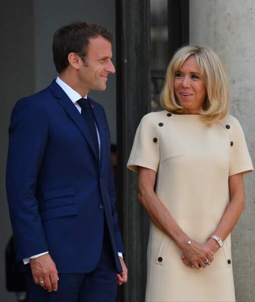Brigitte Macron a joué la carte de la sobriété ce jeudi 11 juillet