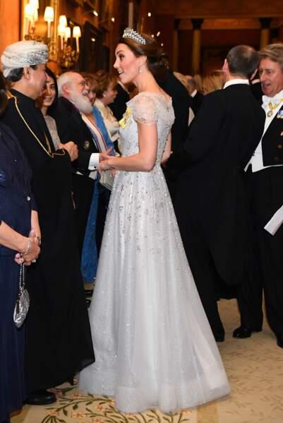 Kate Middleton et son chignon de duchesse sophistiqué