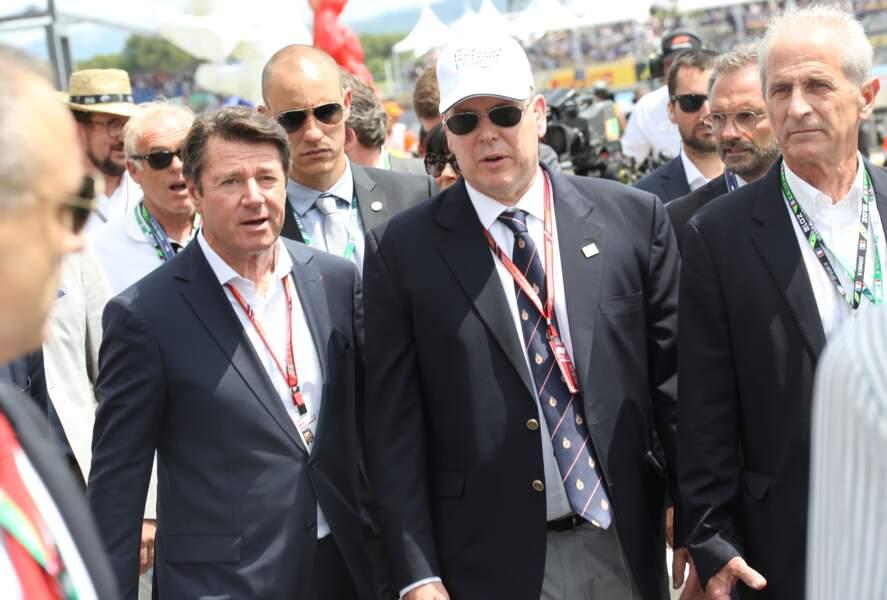 Christian Estrosi au Grand Prix de France au Castellet le 24 juin