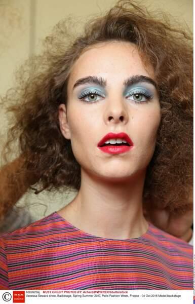 Vanessa Seward show, Backstage, Spring Summer 2017, Paris Fashion Week, France - 04 Oct 2016