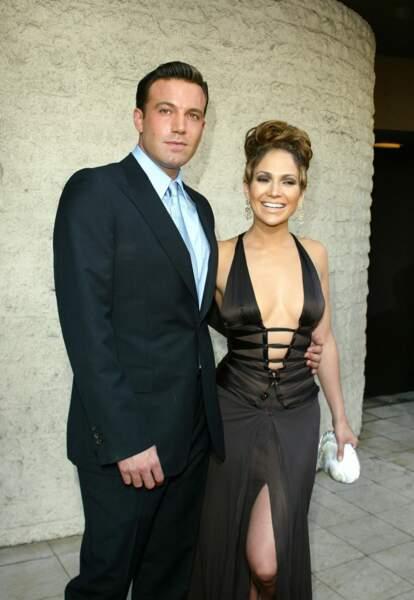 Jennifer Lopez et Ben Affleck à Los Angeles en 2003