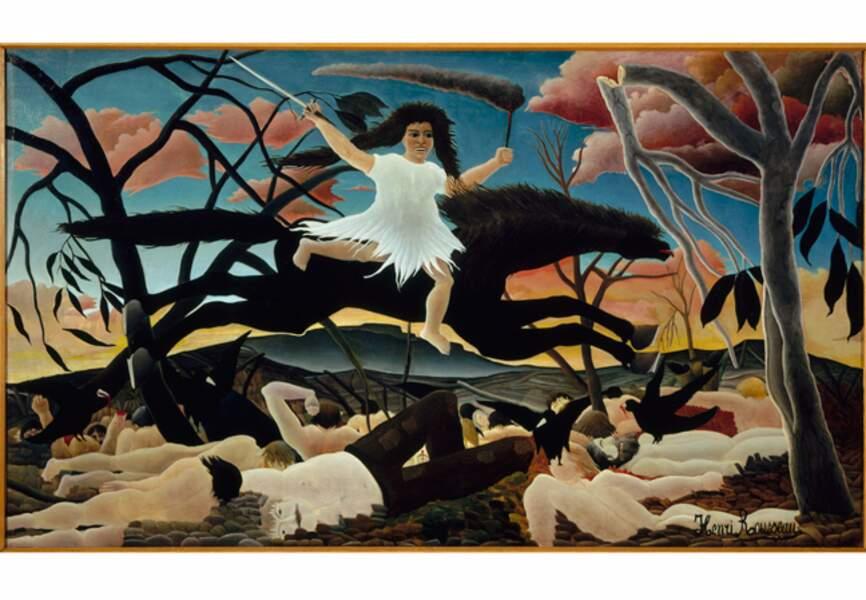 Douanier Rousseau, La Guerre, 1893-1894