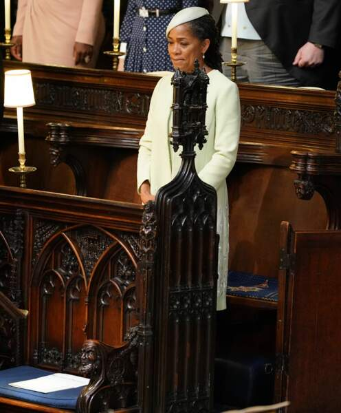 Doria Ragland attend la mariée
