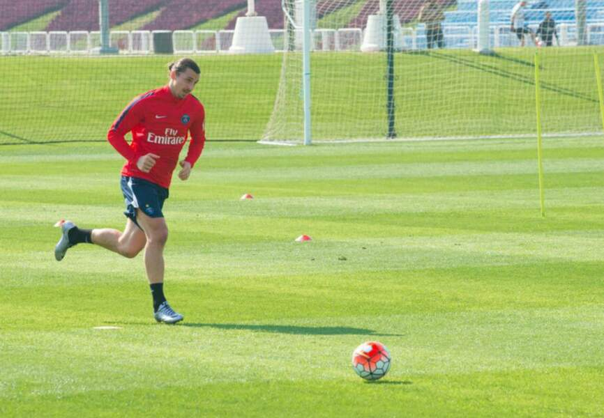 Zlatan Ibrahimovic à l'Aspire Zone de Doha