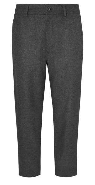 Pantalon en laine et feutre, 190 €, MR Porter sur mrporter.com