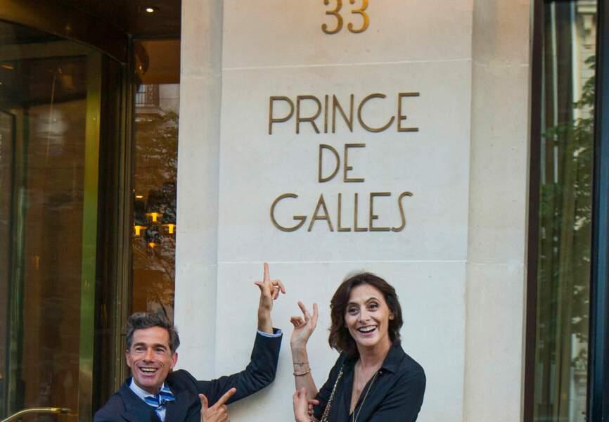 Vincent Darré et Inès de la Fressange