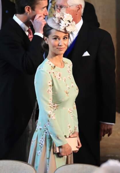 Pippa Middleton tout sourire