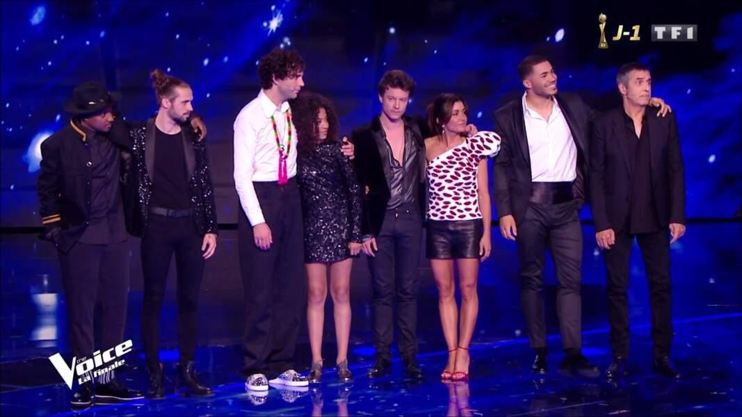 Jenifer a totalement iluminé la finale de The Voice