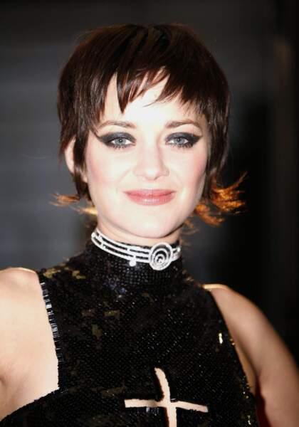"""Marion Cotillard à la première de """"La Mome"""" à Londres en 2007"""