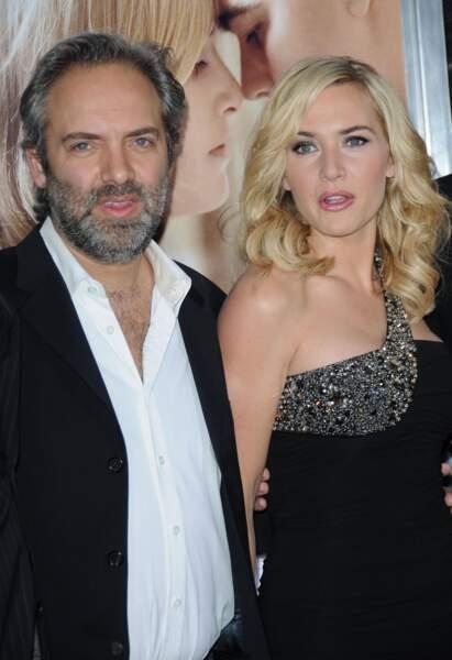 Sam Mendes et Kate Winslet (2008)