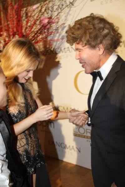 Julie Jardon et Igor Bogdanov clôturent la Fashion Week de Paris dans la bonne humeur