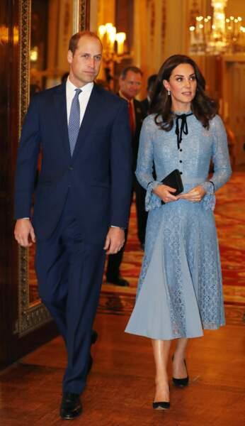 Le prince William et son épouse Kate Middleton