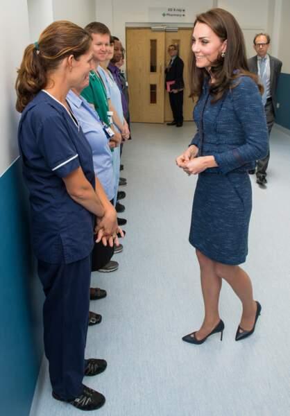 La duchesse s'est rendu au chevet des victimes des attentats de Londres…