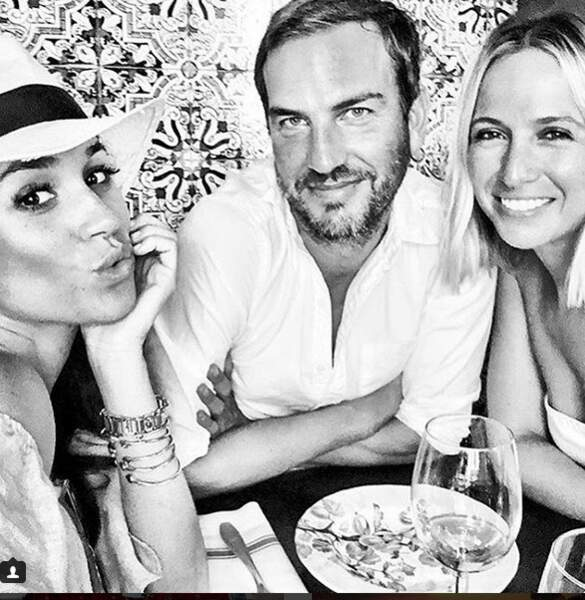 En août 2016, elle a fait découvrir l'Espagne à Meghan, en compagnie d'un autre ami commun, Markus Anderson.