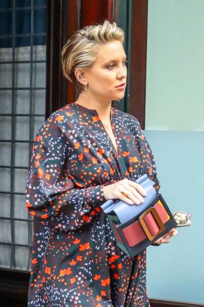 Kate Hudson donne du mouvement a sa coupe grâce à un joli balayage