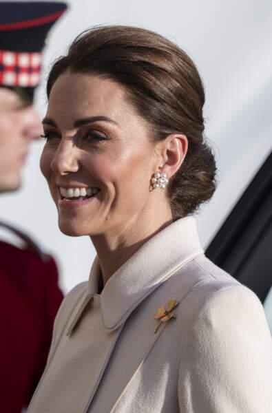 Kate Middleton radieuse avec un look plus moderne et sophistiqué