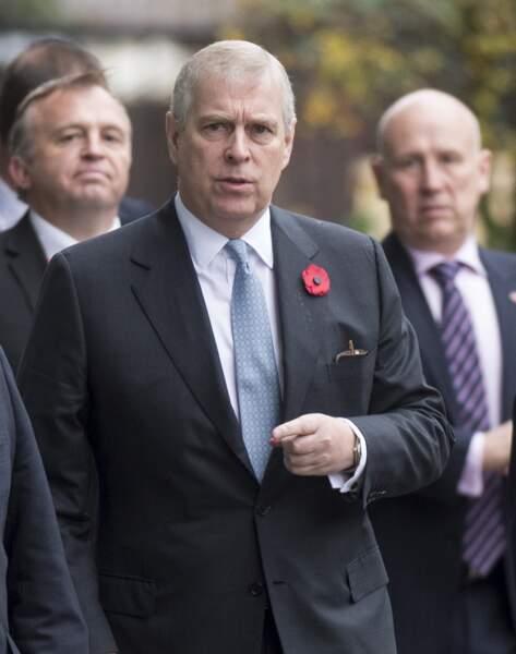 Andrew, duc d'York (novembre 2016).