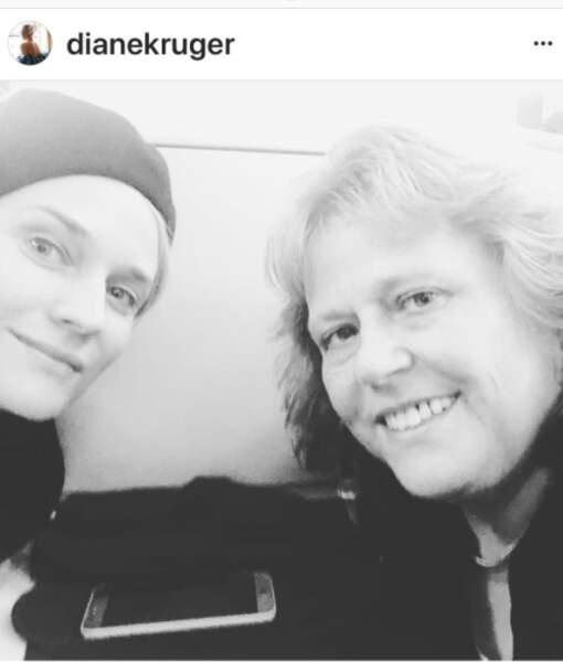 Diane Kruger et sa mère