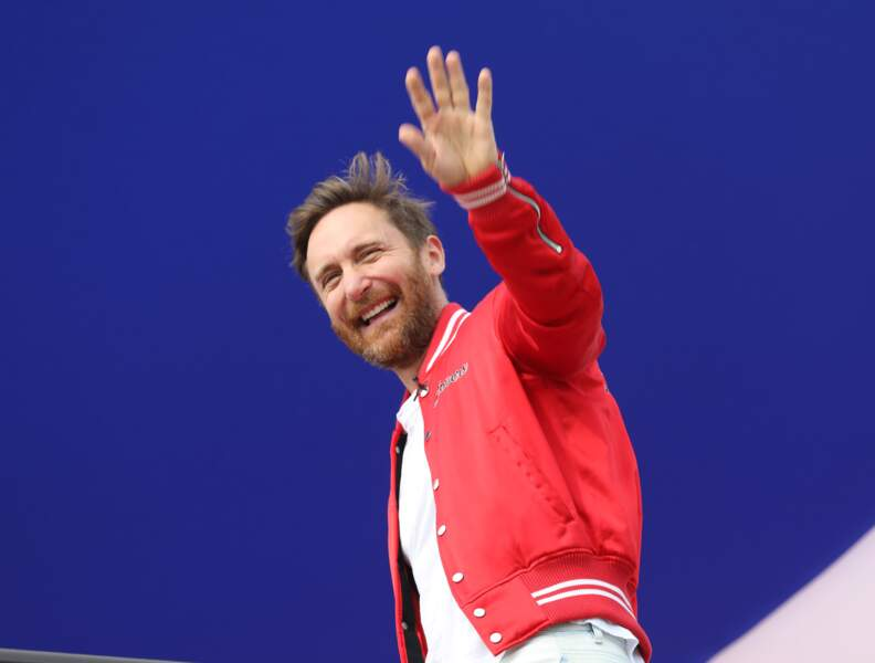 David Guetta au Grand Prix de France au Castellet le 24 juin