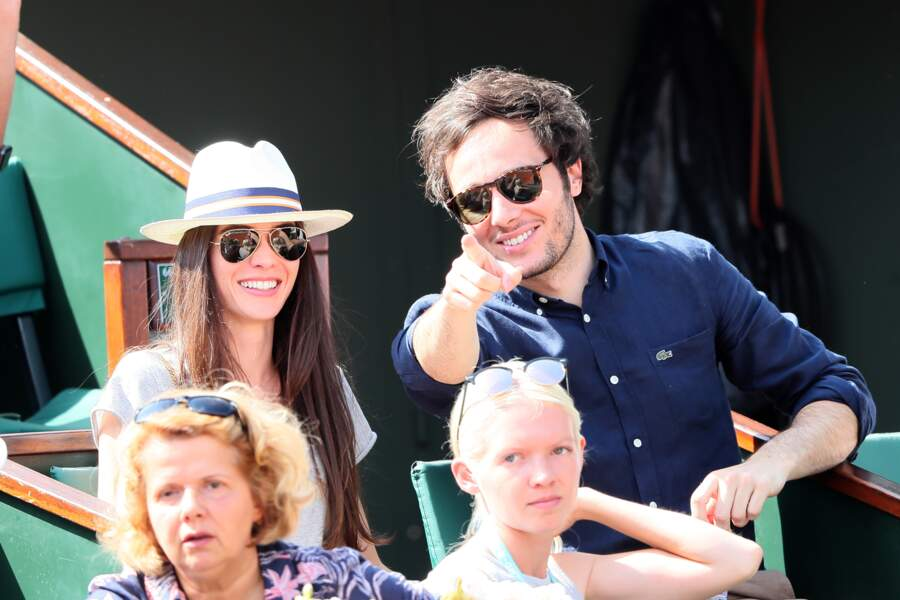 Le chanteur Vianney et sa compagne Catherine Robert
