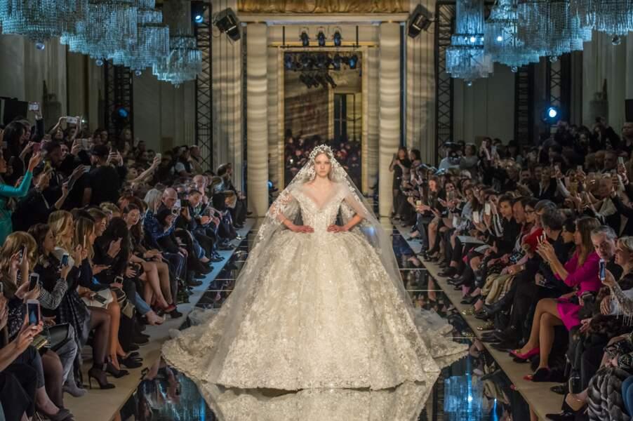 La mariée princesse de Zuhair Murad