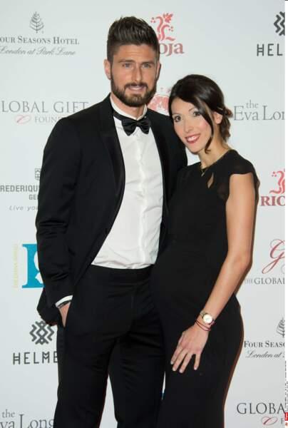 Jennifer et Olivier Giroud