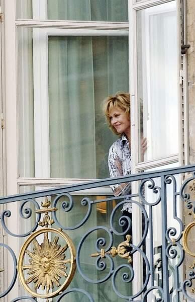 Melanie Griffith fait partie de la clientèle haut de gamme du Ritz