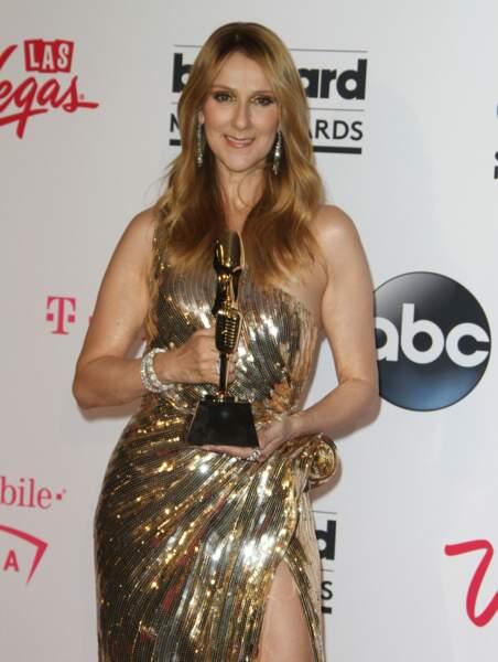 Céline Dion à la soirée des Billboard Music Awards en 2016
