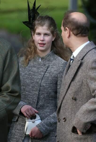 Lady Louise Windsor et son père le comte de Wessex