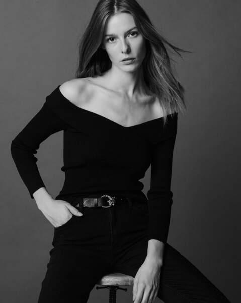 Alizée est mannequin professionnel