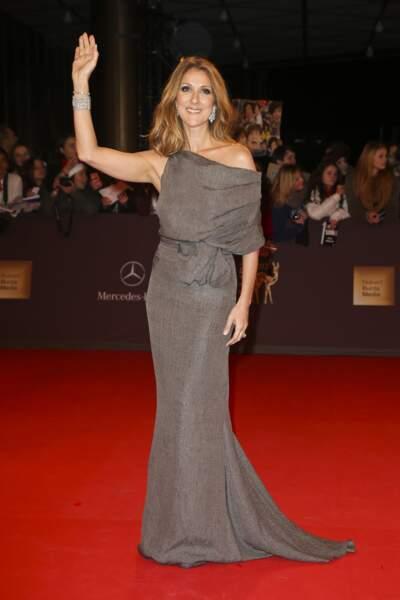 Céline Dion en 2012
