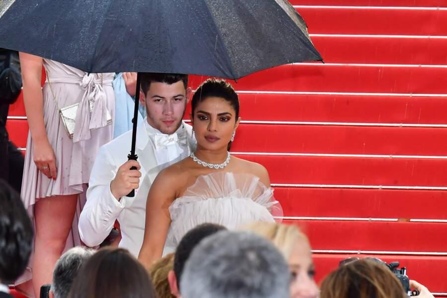 """Priyanka Chopra et Nick Jonas allaient voir le film """"Les plus belles années d'une vie"""""""