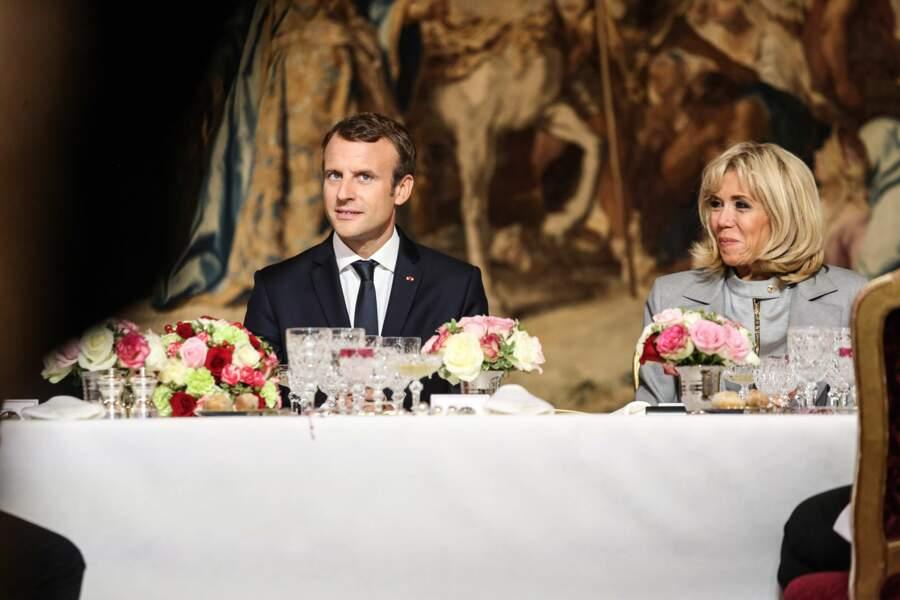 Réception de chefs étoilés a l'occasion du Bocuse d'Or a l'Elysée par le président de la République