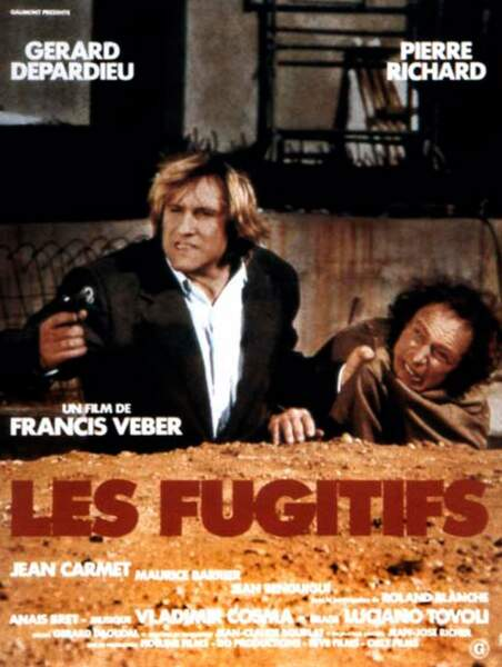 """""""Les Fugitifs"""", en 1986 de Francis Veber"""