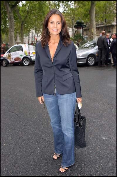 Faustine Bollaert à l'âge de 27 ans à Paris le 4 septembre 2006