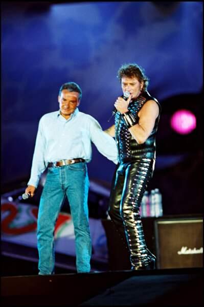 Un crooner et un rocker
