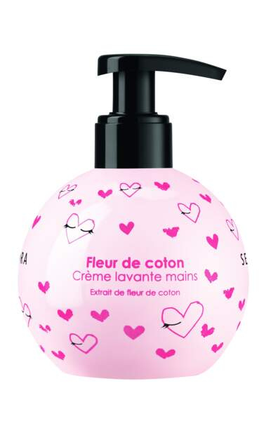 Crème Lavante Main Fleur de Coton, Sephora, 4,95 €