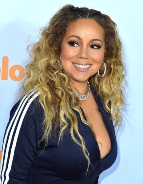 En mars 2017, pour effacer ce précédent scandal Mariah ne s'affiche plus qu'avec ses enfants, ici aux Kid's Choice