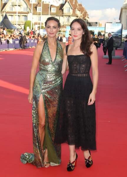 Bérénice Bejo prend la pose avec la comédienne Anais Demoustier