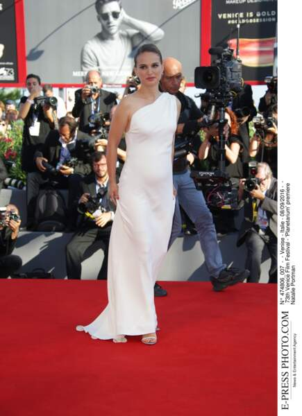 73th Venice Film Festival - 'Planetarium' premiere Natalie Portman Enceinte