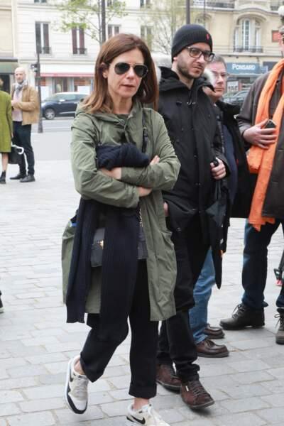 Marina Foïs à l'hommage à Jacques Higelin