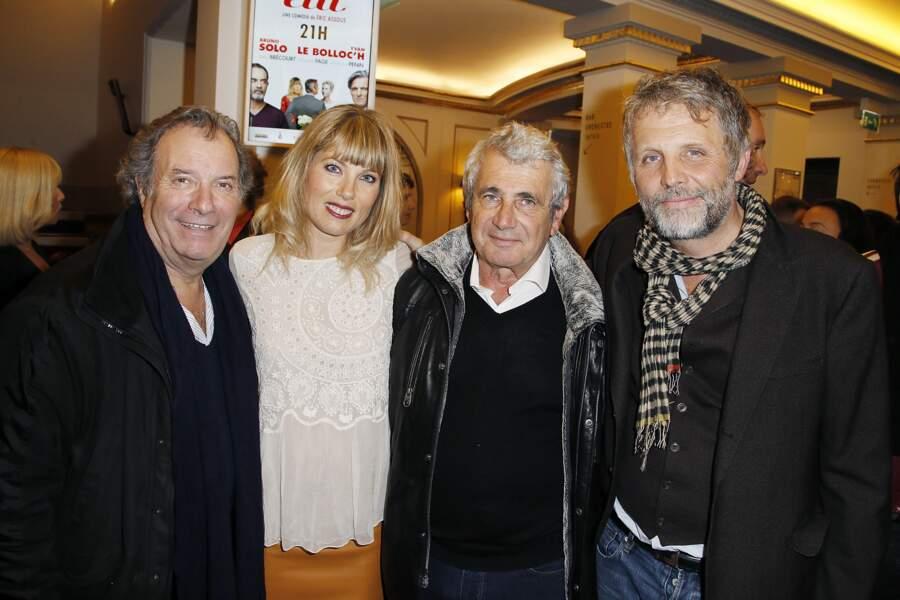 Daniel Russo, Mélanie Page, Michel Boujenah et Stéphane Guillon