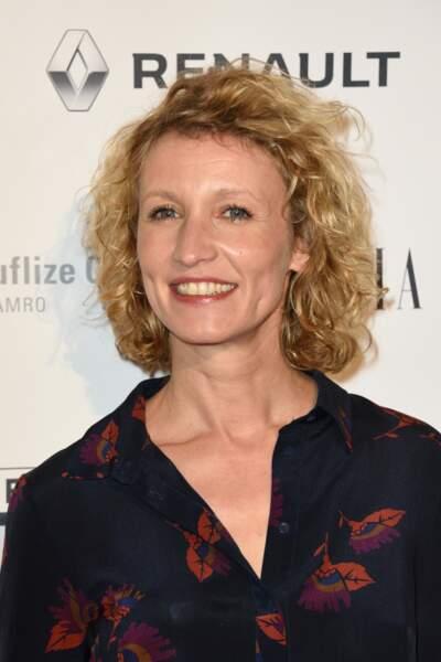 Alexandra Lamy était sur le tapis rouge des Trophées du film français