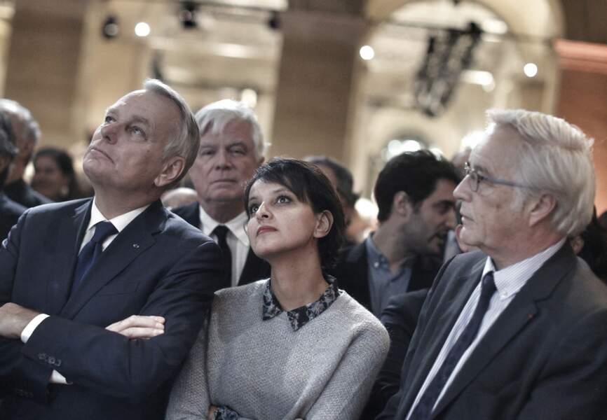 Jean-Marc Ayrault, Najat Vallaud-Belkacem et François Rebsamen