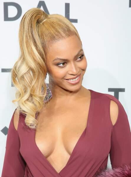 La queue de cheval en biais de Beyoncé